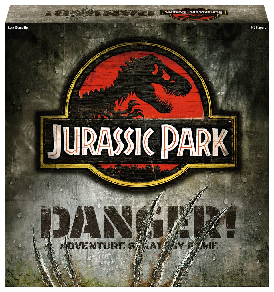 Jurassic Park: Danger board game box