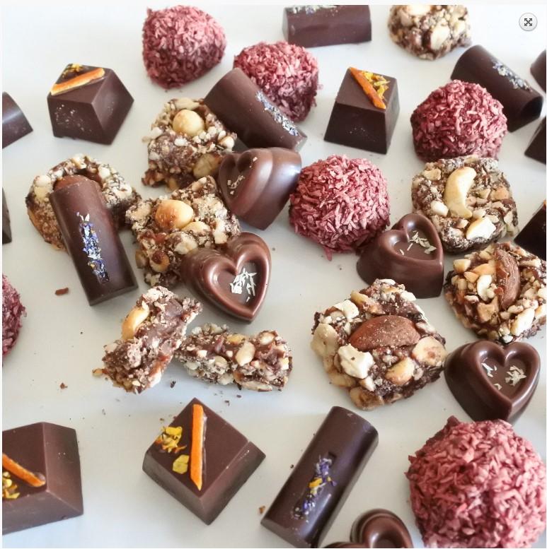 Selection of vegan chocolate for Veganuary